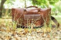 Leather Overnight Bag