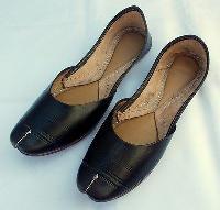 Leather Handmade Mojari Shoes