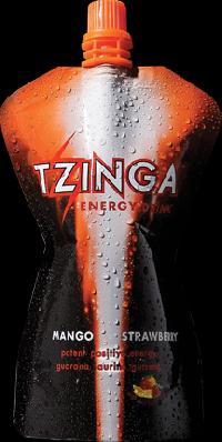 Energy Drink Tzinga Mango Strawberry