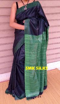 Tasar Ghicha Eri Pure Silk Saree