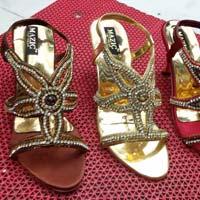 Ladies Party Wear High Heel Sandals