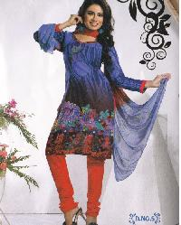 Cotton Printed Suit, Ladies Cotton Suit
