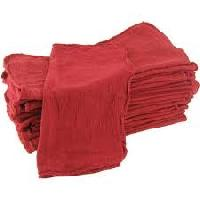 Cotton Red Shop Towels