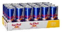Redbull Energy Drink, Energy Drink 250ml Reds / Blue / Silver