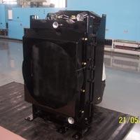 Crane Radiator Cum Oil Cooler Assembly