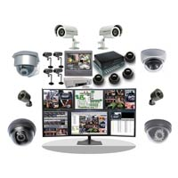 Cctv Camera, Burglar Alarm, Security System