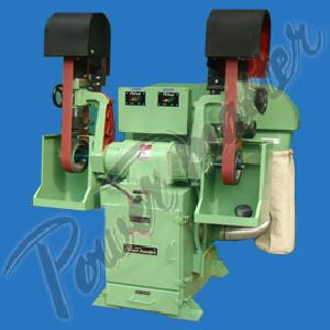 Double Ended Belt Grinding Machine