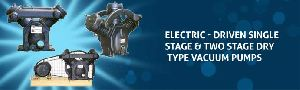 Electric-driven Dry Type Vacuum Pumps
