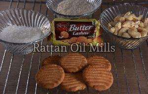 Butter Cashew Biscuits