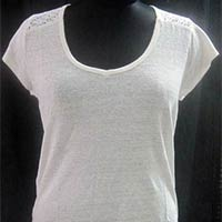 Ladies T Shirt With Lace