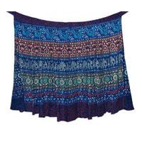 Wrap Cotton Long Skirt