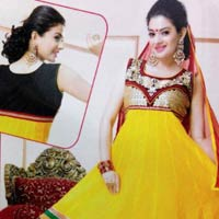 Anarkali Stitched Ready To Wear Dress