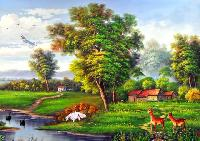 scenery wall paper paintings
