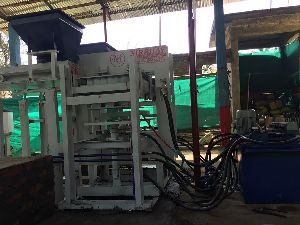 Semi Automatic Fly Ash Brick & Paver Block Machine