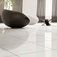 Crystal White Floor Tiles