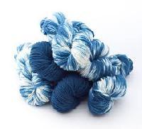 indigo dyed yarns