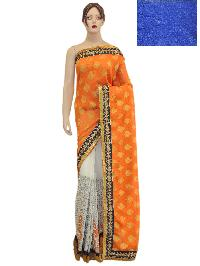 Ethnic Indian Bollywood Half Half Saree