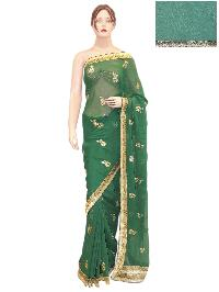 Girlish Indian Bollywood Georgette Saree