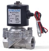 Direct Acting 2 Way Diaphragm Type Solenoid Valve