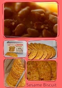 Sesame Biscuit