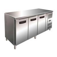 Under Counter Three Door Refrigerator