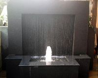 Custom Rain Water Outdoor Fountain