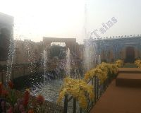 Jumping Jet Outdoor Fountain