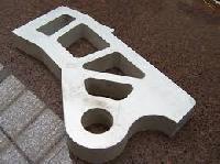 Aluminum Waterjet Profile Cutter Parts