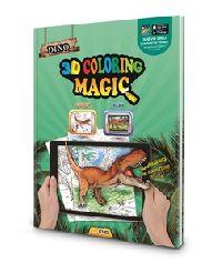 Dino 3d Magic Coloring Book