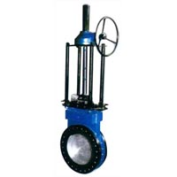 Knife Edge Gate Valve (round Flange Type)