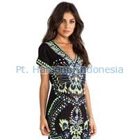 Ladies Batik Dress 01