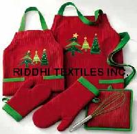 Christmas Apron, Oven Glove, Pot Holder