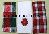 Christmas Napkins, Tea Towels, Kitchen Towels, Dish Cloths