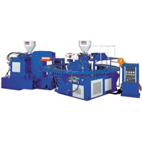 Automatic Rotary Double Color Shoes Injection Machine (F-202)