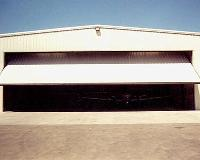 Partial Canopy Hangar Doors