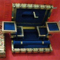 Oxidize Wooden Jewellery Box