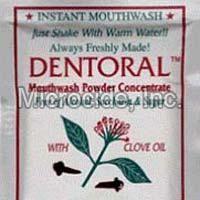 Dentoral Clove Concentrated Mouthwash Powder