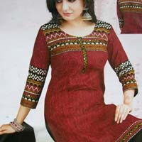 South Cotton Dress Material