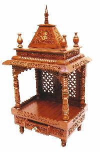 Sheesham Wood Temple