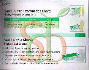 Vasco Nitrile Examination Gloves