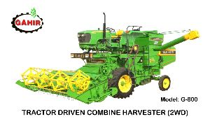 G 800 With JD 5310 Combine Harvester