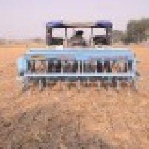 Zero Till Seed Cum Fertilizer Drill Machine