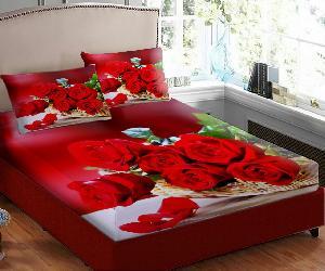 Designer Velvet Double Bedsheets