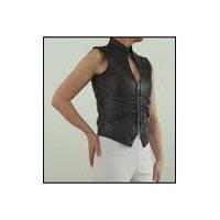 Ladies Leather Waistcoats