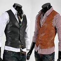 Mens Leather Waistcoats