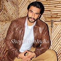 Star Ranbir Singh Brown Lamb Leather Jacket Blazer Coats
