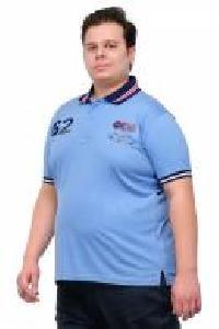 Half Sleeve Sky Blue Polo T Shirt