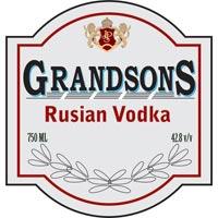 Grandsons Rusian Vodka