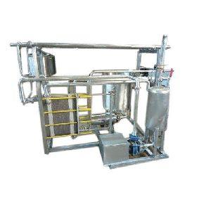 Milk Pasteurizer Unit