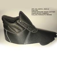 Leather Safety Shoe Uppers